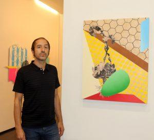 Exposición en la Galeria de Javier Silva,de Fernando Guijar.fto Henar Sastre